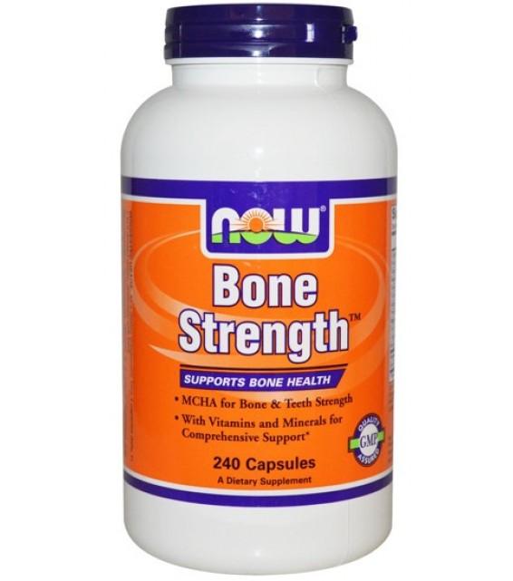 Bone Strength Крепкие кости 240 капс, NOW