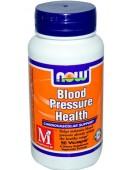Blood Pressure Health Здоровое давление, 90 капс. NOW