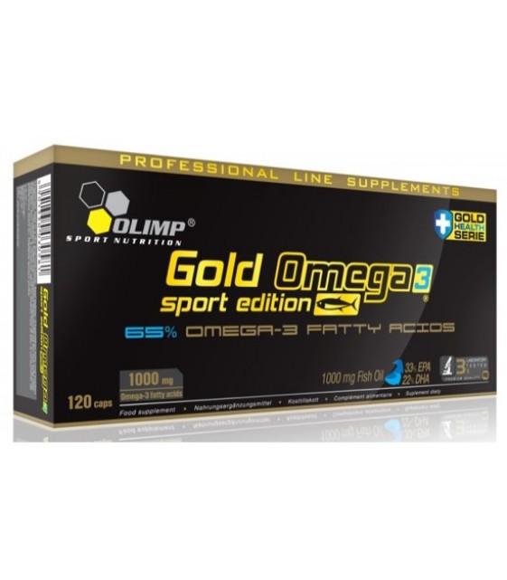 Gold Omega-3 Голд Омега-3 Sport Edition, 120 капс