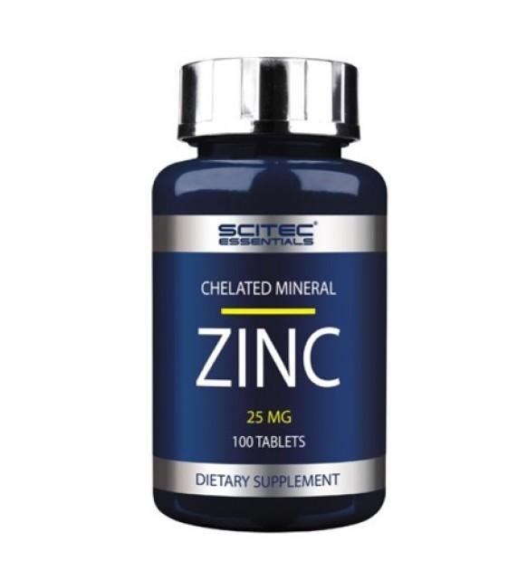 Zinc Цинк 25 мг/100 табл Scitec Nutrition