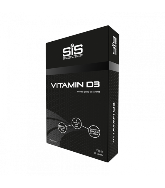 Vitamin D3, Витамин D3, 90 табл SiS
