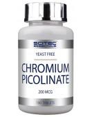 Chromium picolinate, Пиколинат хрома 100 таб Scitec Nutrition