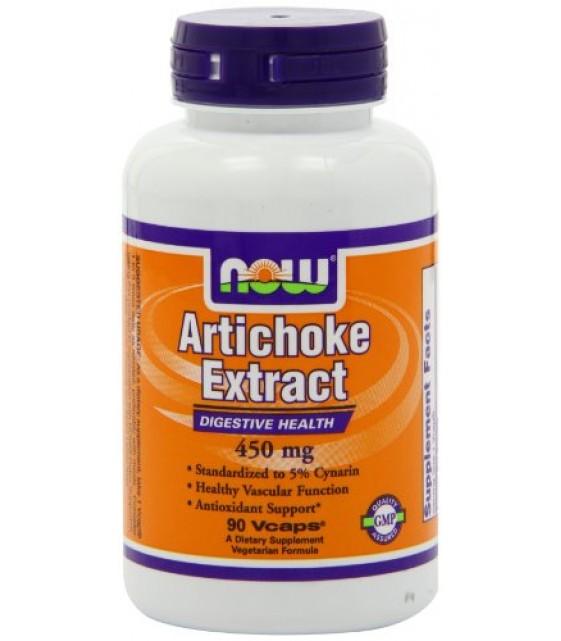 Artichoke Extract Артишока экстракт 90 капс/ 450 мг