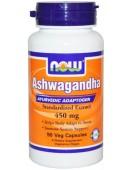 Ashwagandha Ашвагандха экстракт 450 мг NOW