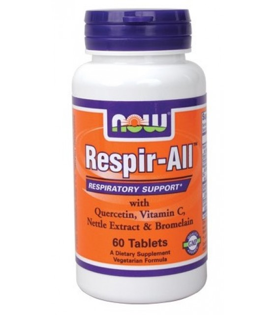 Respir-All от аллергии, 60 табл NOW