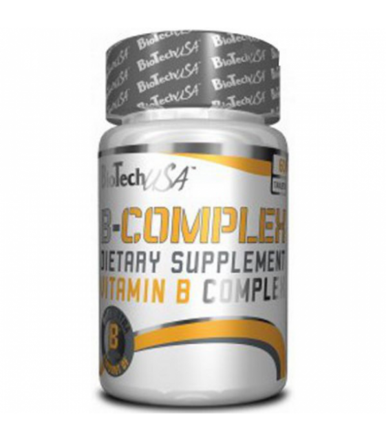 B-Complex Витамин-В комплекс, 60 табл Biotech USA