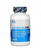 L-Citrulline2000, 667 мг, 90 растительных капсул, EVLution Nutrition