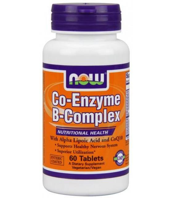Co-Enzyme В-Komplex, 60 кап NOW