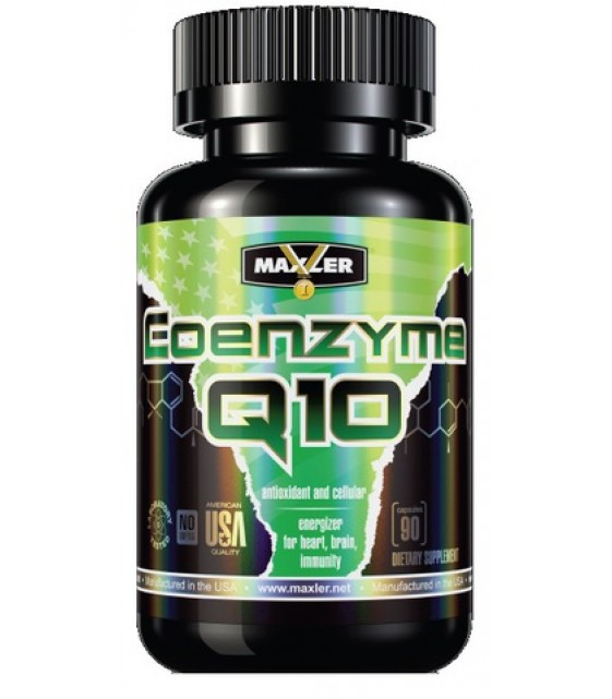 Coenzyme Q10, Кофермнент Q10 100 mg/90 капс Maxler