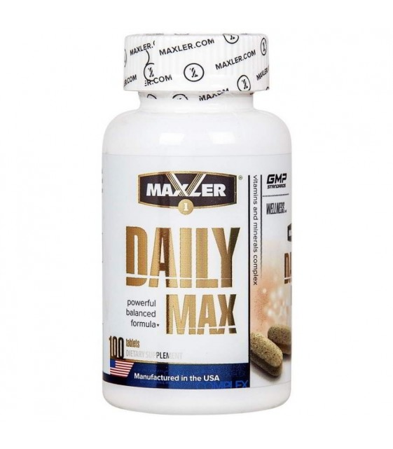 Daily Max Дэйли Макс, 100 таб Maxler
