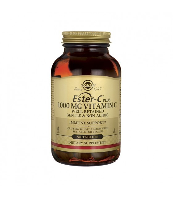 Ester-C plus 1000 mg, 90 tabs, Solgar