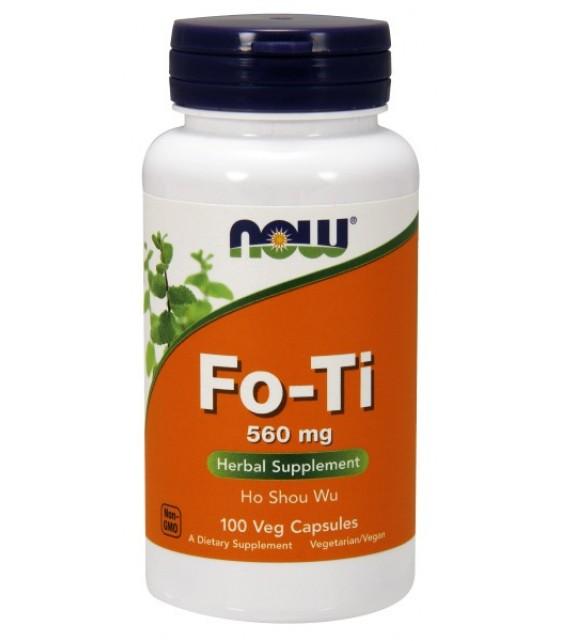 FO-Ti Горец многоцветковый, 560 мг, 100 капс NOW