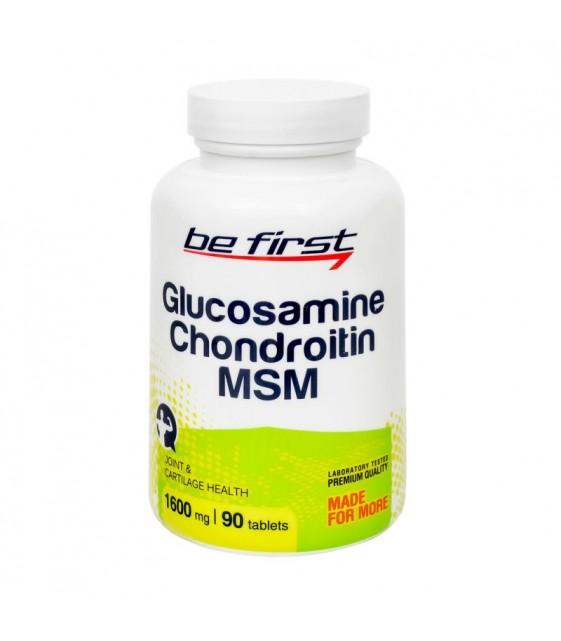 Glucosamine + Chondroitin + MSM Глюкозамин + Хондроитин + МСМ 90 таб. Be First