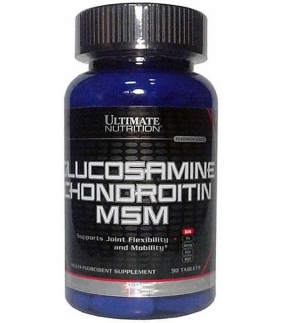 Glucosamine Chondroitin & MSM, 90 таб