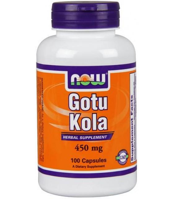 Gotu Kola Готу Кола 450 мг NOW