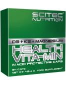 Health Vita-Min D3 + K2 + магний, 54 кап. Scitec Nutrition