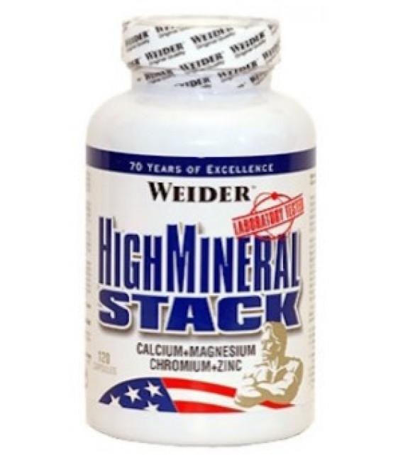 High Mineral Stack Хай минерал Стак, 120 капс Weider