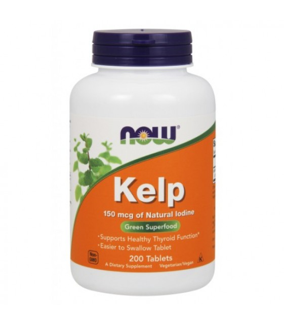 Kelp Келп 150 мкгр., 200 табл. NOW