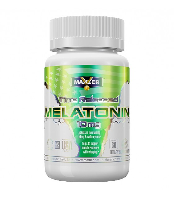 Melatonin Мелатонин 5 мг, 60 табл Maxler