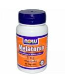 Melatonin Мелатонин 3 мг, 60 капс NOW