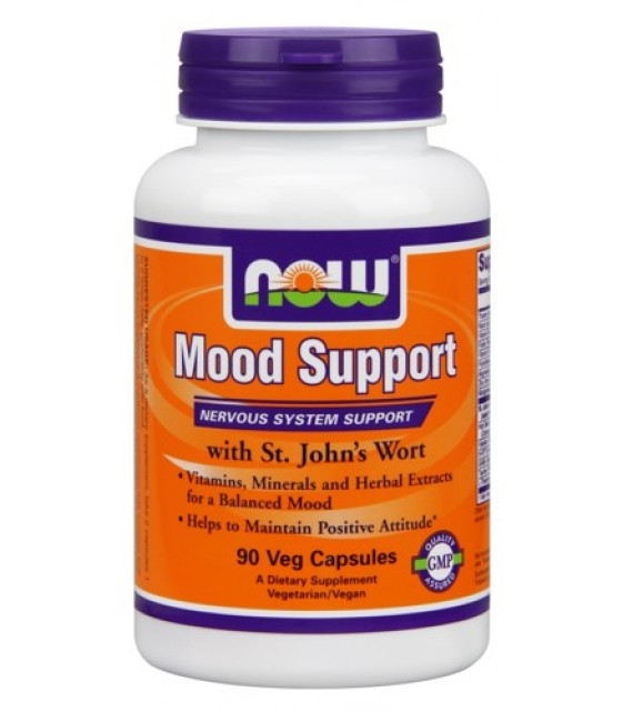 Mood Support, Муд Саппорт 90 капс. NOW