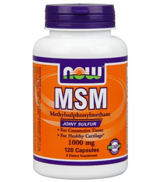 MSM-1000 МСМ, 120 капс. NOW