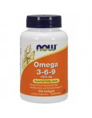 Omega 3-6-9 1000 мг/ 100 гель.капс, Now Foods