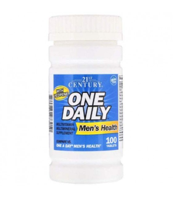 One Daily Men's Health, 100 tablets, 21st CENTURY