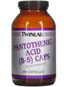 Pantothenic Acid B-5 Пантотеновая кислота 500 мг 200 капс. Twinlab