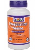 Phosphatidyl Serine Фосфатидилсерин 100 мг/60tab NOW