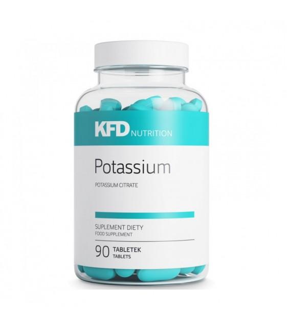 Potassium, Калий 120 таб. 350 мг. KFD
