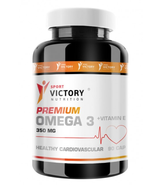Premium Омега-3 с витамином Е 90 кап. Sport Victory Nutrition