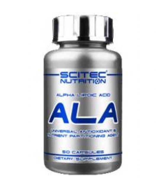 ALA, Альфа-Липоевая Кислота, 50 капс. Scitec Nutrition