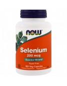 Selenium methionine Селен 200 мкг/180 капс NOW