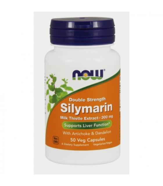 Silymarin Milk Thystle, Силимарин 300 мг, 100 капс NOW