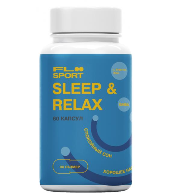Sleep&Relax, 60 капсул, Floo Sport