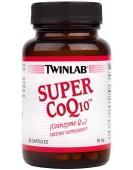 Super Coenzyme Q10, 50 мг, 60 капс Twinlab