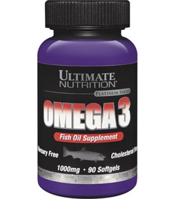 Omega-3 Омега-3 Fish Oil Supplement, 90 капс