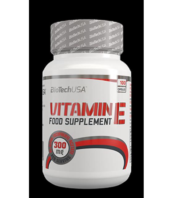 Vitamin E-200, Витамин-Е 100 гел. капс. Biotech USA