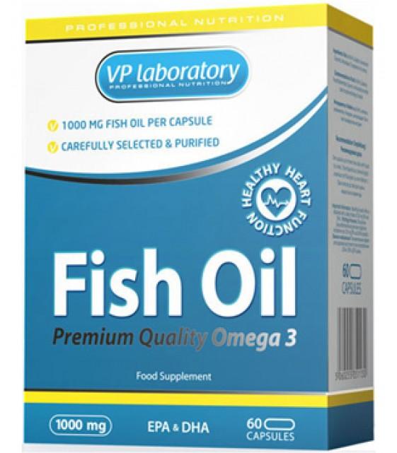 Fish Oil Рыбий жир 1000 мг, 60 капс VPLab