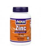 Zinc Gluconate Цинк Глюконат 50 мг, 250 таб. NOW