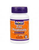 Zinc Picolinate Цинк Пиколинат 50 мг, 60 капс NOW